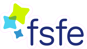 FSFE logo sticker