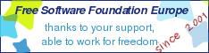 Unterstütze die FSFE durch eine Spende!