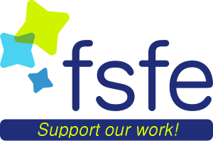 Support FSFE's work. Donate!