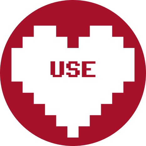 ILoveFS heart with 'use'