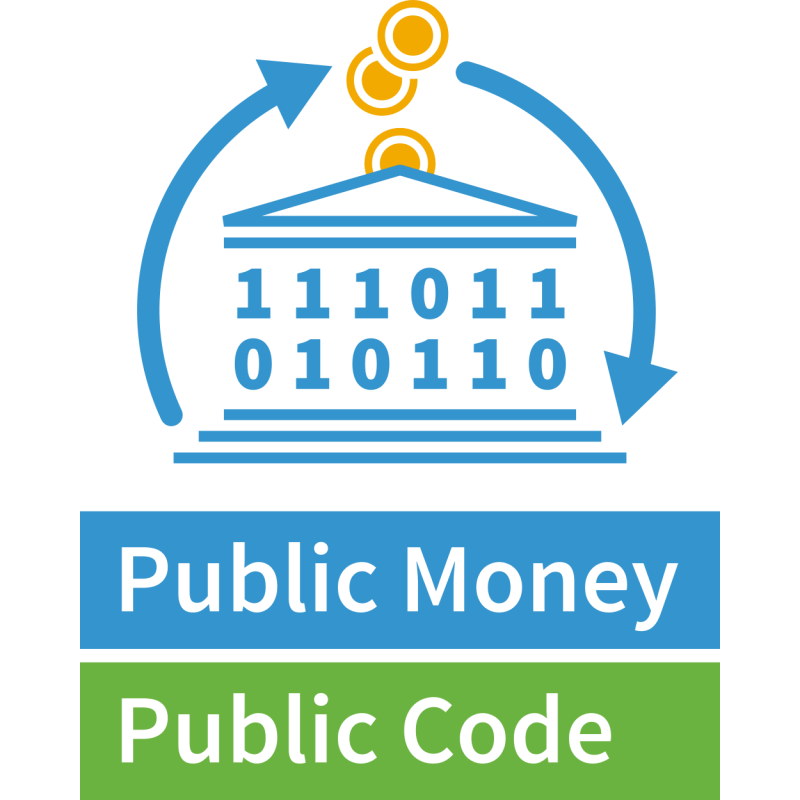 Logo of Public Money? Public Code!