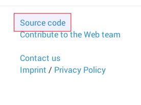 Find the source code