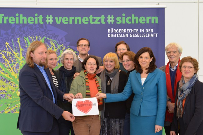 German green  parliamentary group with an ilovefs picture